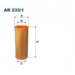 Filtr powietrza Lublin AR233/1