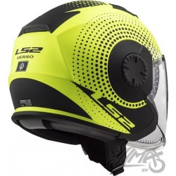 Kask LS2 OF570 Verso Spin Matt H-V Yellow M