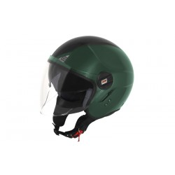 Kask ALPHA NEXT Black Army Green L ORIGINE połysk