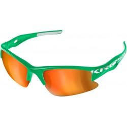 Okulary KROSS DX-RACE zielono-białe