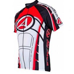 Koszulka AUTHOR ARP-12 czarno-czerwono-biała L