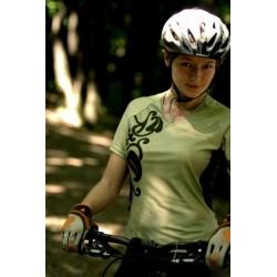 Koszulka ACCENT damska KALLIOPE oliwkowa L