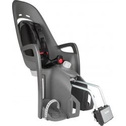 Fotelik rowerowy ZENITH RELAX szary, czarna wyściółka