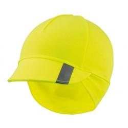 czapka zimowa z daszkiem KROSS AIRBORN L/XL FLUO