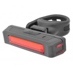 Lampa akumulatorowa tył Nexelo, 16 LED-CHIP 3 funkcje, mikro USB.