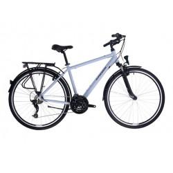 """Rower Kross Trans 1.0 M 19"""" 2021 szaro czarny"""