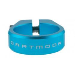 Obejma podsiodłowa DARTMOOR Ring śred. 31,8mm, turkusowa anodowana