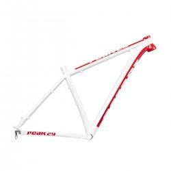 Rama Accent Peak 29 L biało czerwona