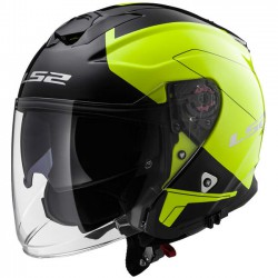 Kask LS2 OF521 infinity Beyond Black HI-VIS M