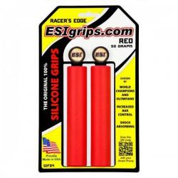 Chwyty ESI Grips RACER'S EDGE czerwone