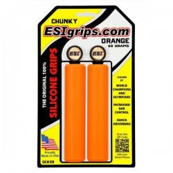 Chwyty ESI Grips Chunky pomarańczowe
